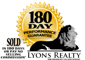 Lyons Realty 180 Day Logo